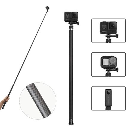 Bastao-de-Selfie-Telesin-Ultra-Longo-Fibra-de-Carbono-para-Cameras-de-Acao--270cm-
