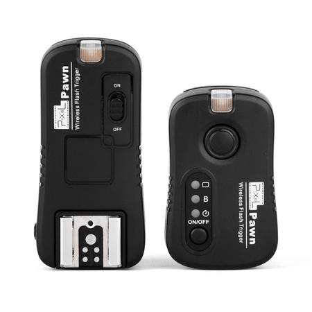 Radio-Flash-Pixel-Pawn-TF-361-Sem-Fio-2.4GHz-para-Canon
