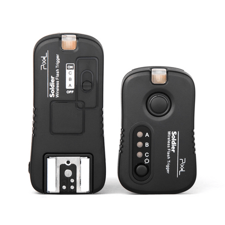 Disparador-de-Flash-Pixel-Soldier-TR-374-Sem-Fio-2.4GHz-Olympus-e-Panasonic