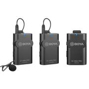 Microfone-de-Lapela-Duplo-Sem-Fio-Boya-BY-WM4-Pro-K2-Wireless