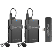 Microfone-de-Lapela-Duplo-Sem-Fio-Boya-BY-WM4-Pro-K4-para-Smartphone-iOS--Lightning-