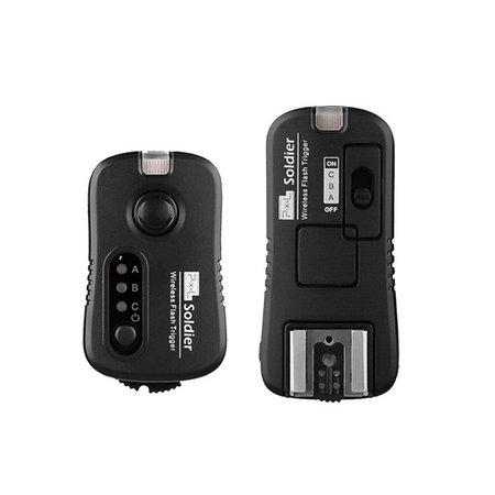 Disparador-de-Flash-Pixel-Soldier-TF-371-Sem-Fio-2.4GHz-para-Canon