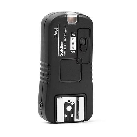 Receptor-de-Flash-Pixel-Soldier-TF-372RX-Sem-Fio-2.4GHz-para-Nikon