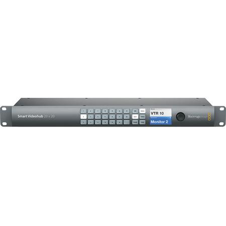 Switcher-Blackmagic-Design-Smart-Videohub-20x20-6G-SDI