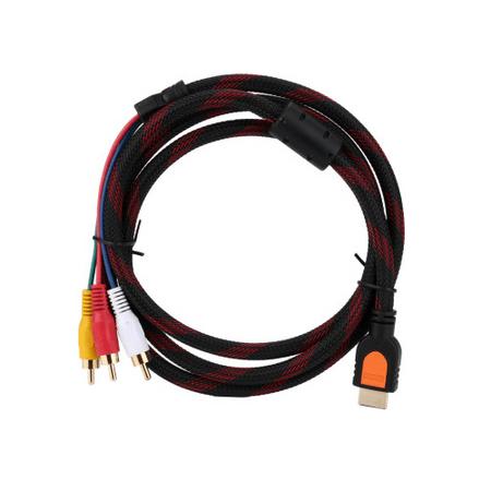 Cabo-Transmissor-de-Sinal-HDMI-para-AV-RCA--1.5m-