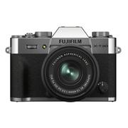 Camera-FujiFilm-X-T30-II-Mirrorless-Prata---Lente-XC-15-45mm-f-3.5-5.6-OIS-PZ