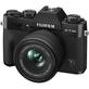 Camera-FujiFilm-X-T30-II-Mirrorless-Preta---Lente-XC-15-45mm-f-3.5-5.6-OIS-PZ