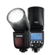 Flash-Godox-V1-P-Cabeca-Redonda-TTL-Master-SpeedLight-para-Pentax