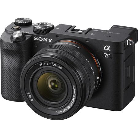 Camera-Sony-Alpha-a7C-Mirrorless-4K-com-Lente-28-60mm--Preta-