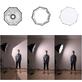 Softbox-Octagonal-Weeylite-VP-60-Octabox-Guarda-Chuva-de-Montagem-Bowens--60cm-