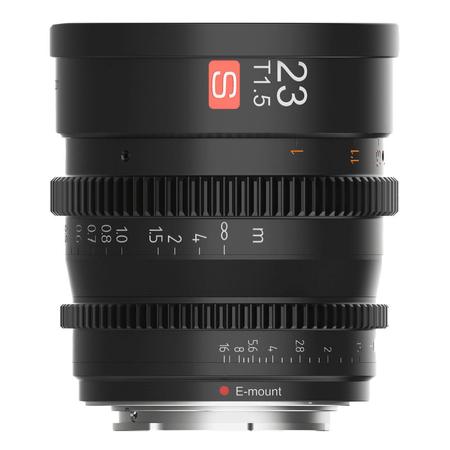Lente-Cine-Viltrox-23mm-T1.5-Manual-para-Sony-E-Mount