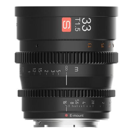 Lente-Cine-Viltrox-33mm-T1.5-Manual-para-Sony-E-Mount
