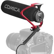 Microfone-Shotgun-Comica-CVM-V30-LITE-R-Camera-Mount-para-Cameras-e-SmartPhones--Vermelho-