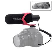 Microfone-Shotgun-Comica-CVM-V30-Pro-R-Supercardioide-Direcional--Vermelho-