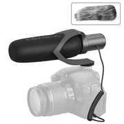 Microfone-Shotgun-Comica-CVM-V30-Pro-B-Supercardioide-Direcional--Preto-