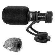 Microfone-Shotgun-Mini-Comica-CVM-VM10-II-Direcional-Compacto--Preto-
