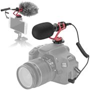 Microfone-Shotgun-Mini-Comica-CVM-VM10-II-Direcional-Compacto--Vermelho-